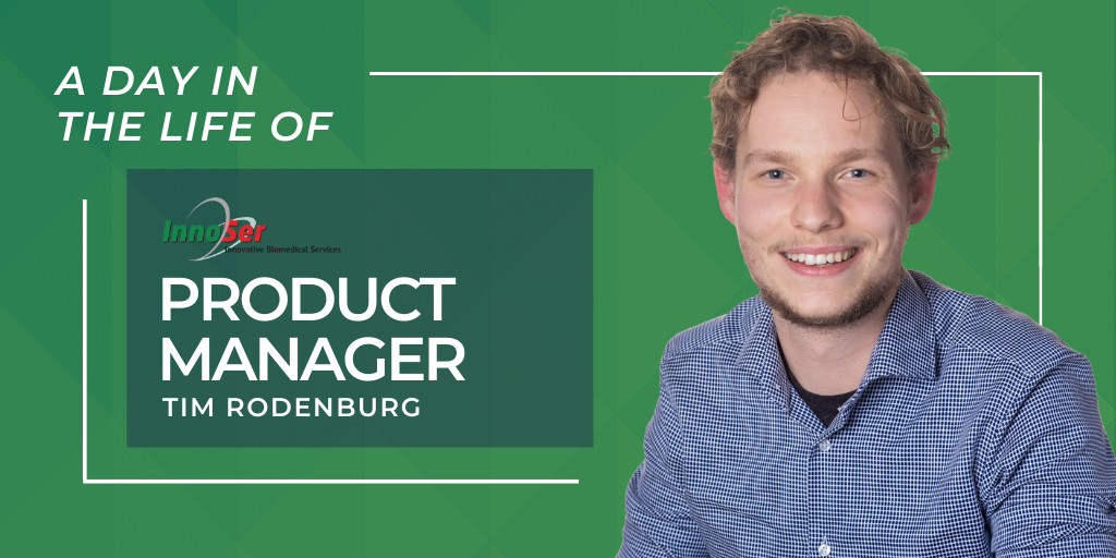 A day in the life of InnoSer product manager Tim Rodenburg