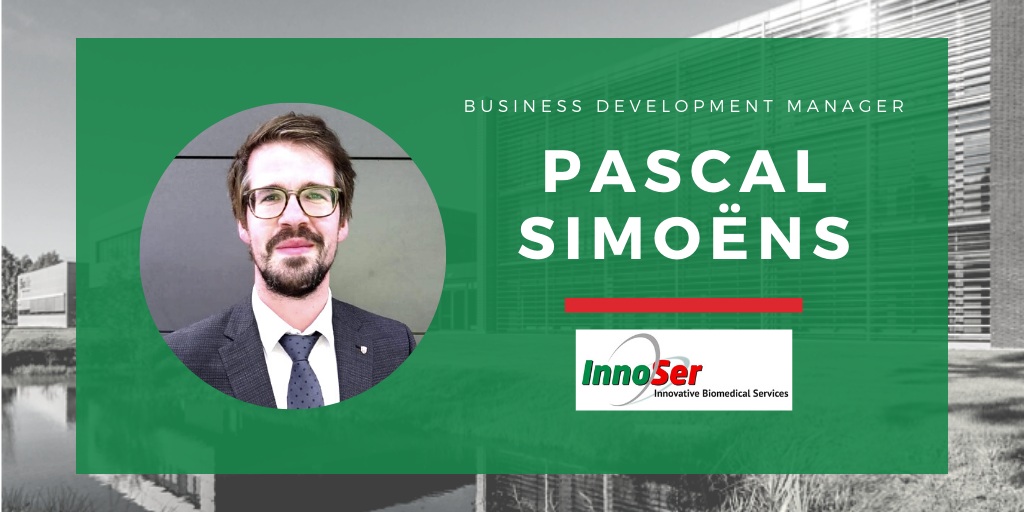 InnoSer welcomes Pascal Simoëns as its new Business Development Manager