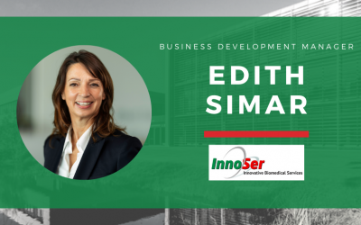 InnoSer welcomes Edith Simar as its new Business Development Manager