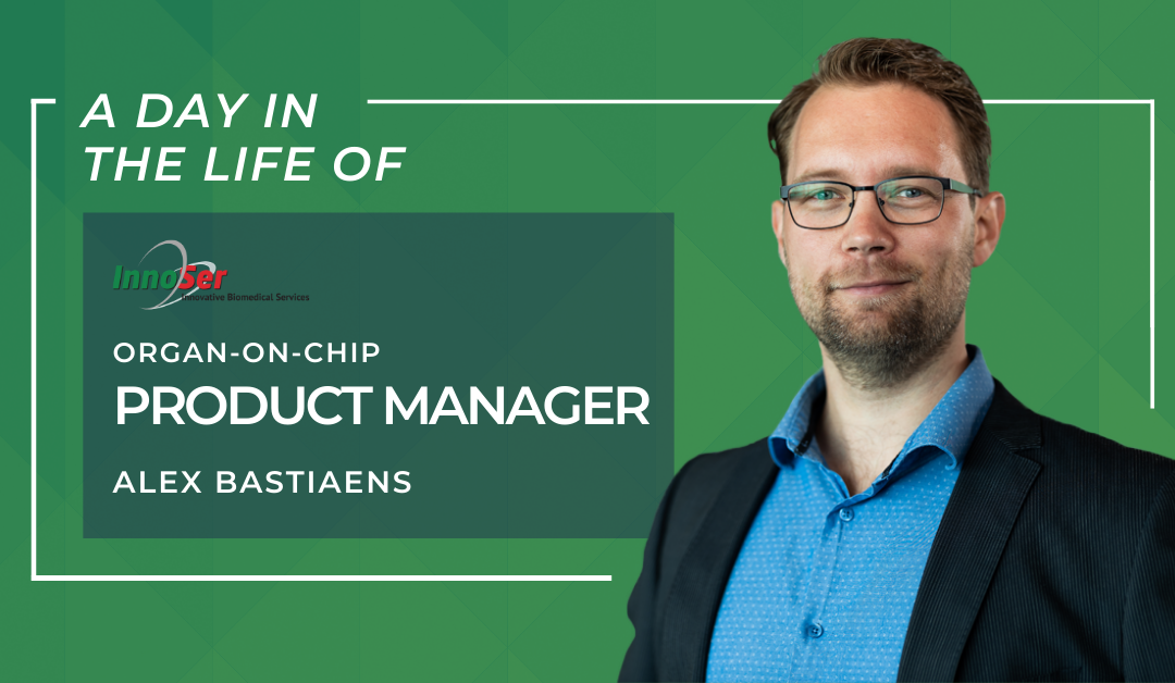 A day in the life of InnoSer Organ-on-Chip product manager Alex Bastiaens
