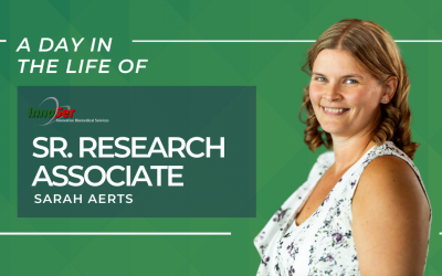 A day in the life of InnoSer senior research associate Sarah Aerts