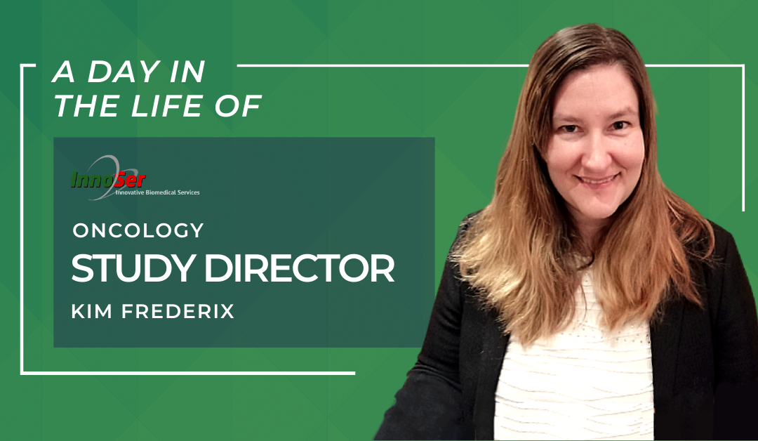 A day in the life of InnoSer Oncology Study Director Kim Frederix