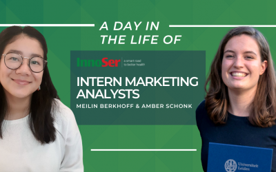A day in the life of InnoSer's Intern Marketing Analysts Meilin Berkhoff & Amber Schonk